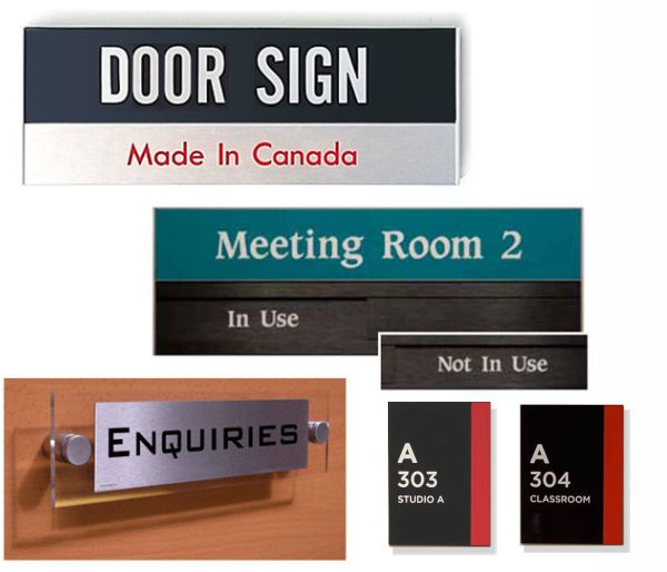 Door Signs - Room Signs