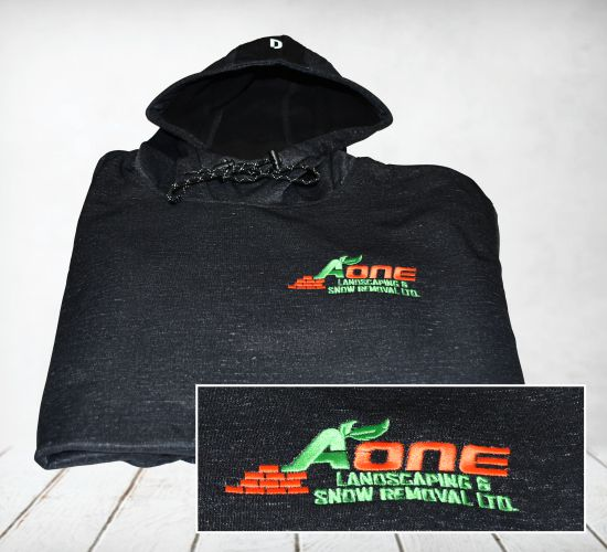 Embroidery on Hoodies