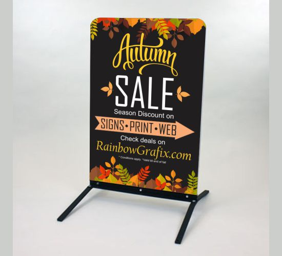 Portable Outdoor ACM Sign