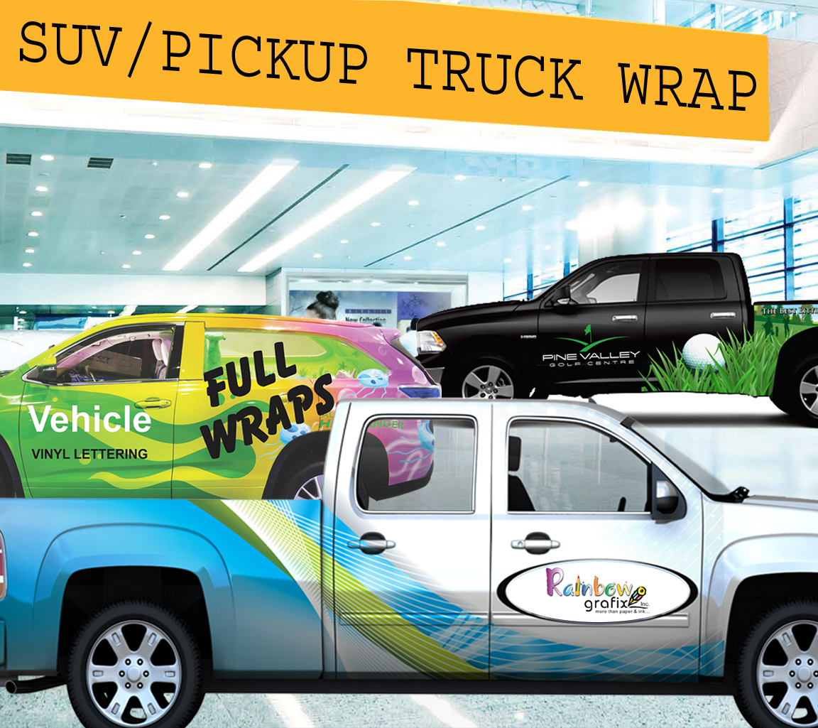 SUV / Pickup Trucks Wraps