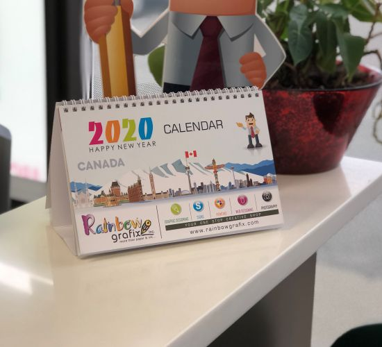 Custom-made Table Calendars